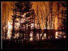 incendie pres de Big Lake