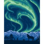lantern-press-northern-lights-and-wolf