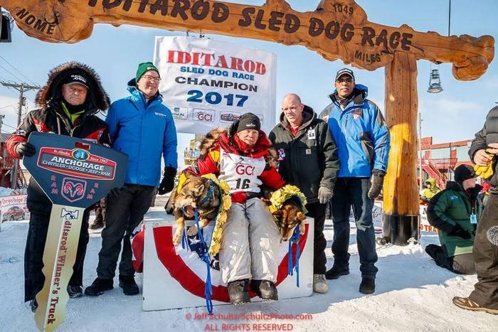 Winner iditarod 2017