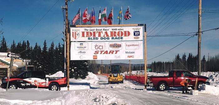 fairbanks iditarod depart