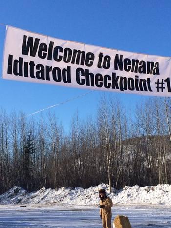 Nenana Alaska checkpoint 1